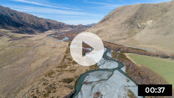 Video about the importance of braided rivers
