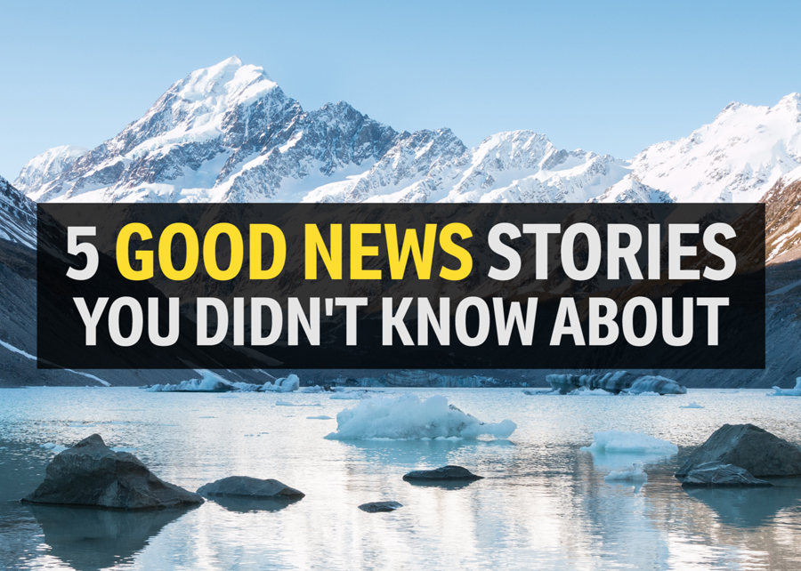 Latest five good news stories