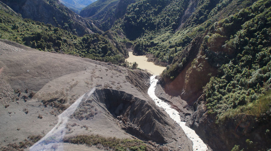 what is the effect of landslide