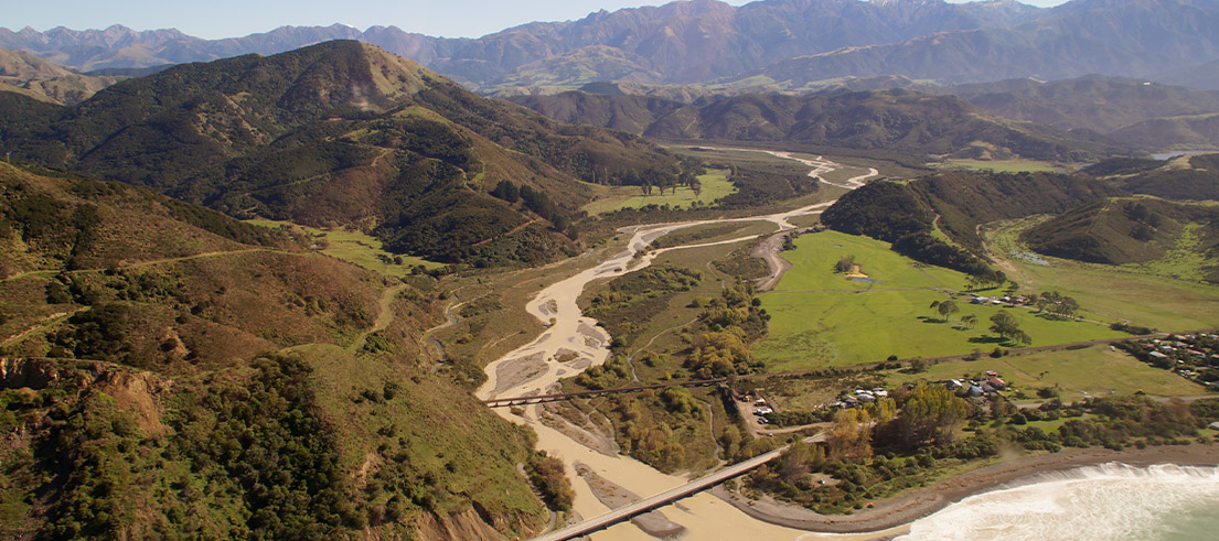 ECanNewsStory Ecology and environmental impact forefront for Kaikoura coastal work