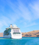 Ecan news story Akaroa harbour cruise ship risk report release