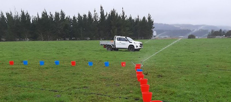 Bucket testing carried out earlier in the year